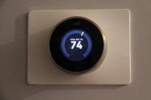 My Nest thermostat